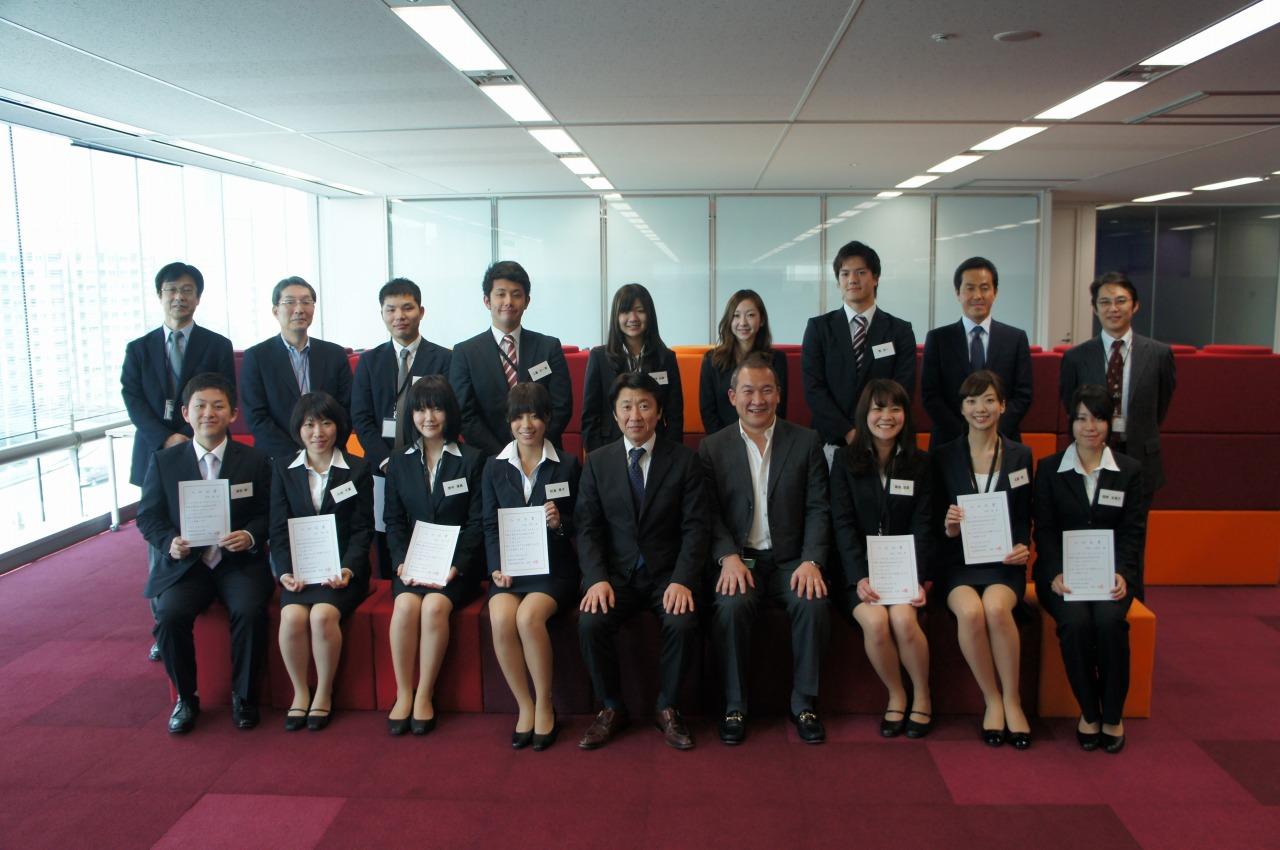 2012年度 新入社員入社式   medi...
